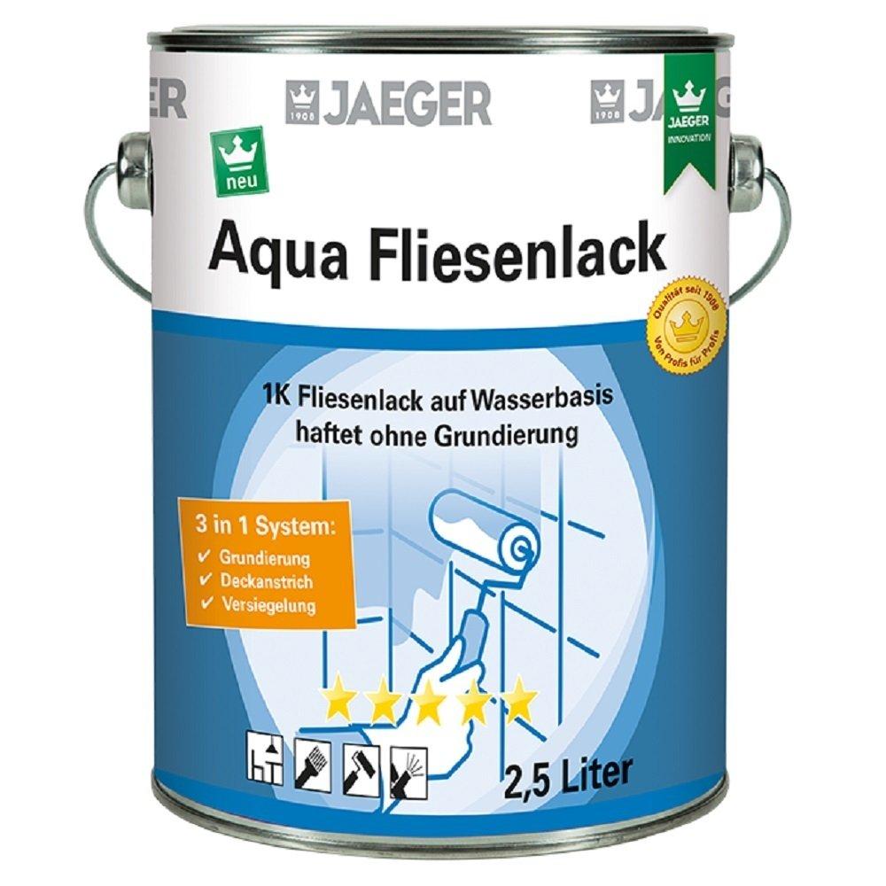 Jaeger Aqua Fliesenlack für Wandfliesen, seidenmatt
